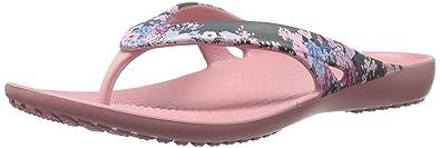Crocs Women s Kadee Ii Graphic W Flip Flop Flip-Flops & House Slippers at amazon