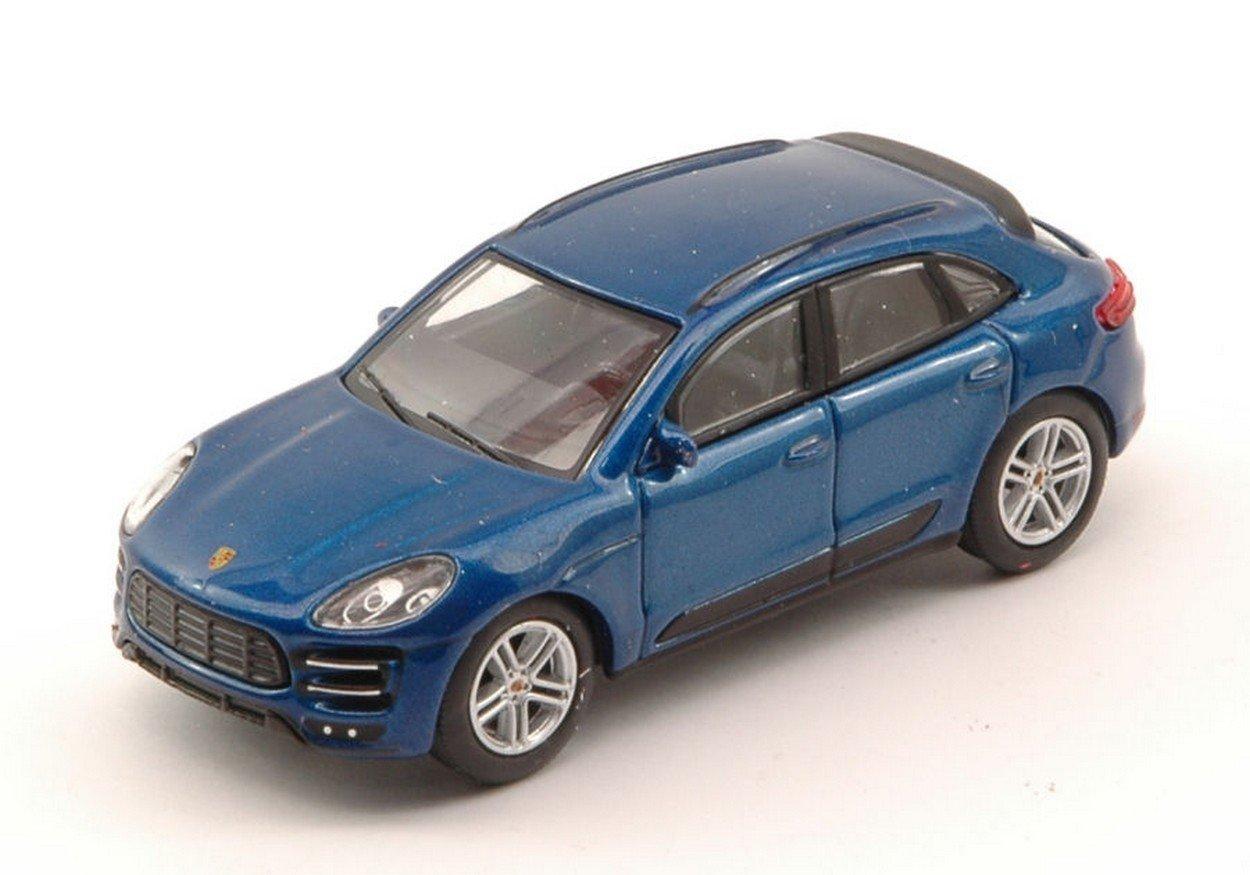 Schuco SH20137 Porsche MACAN Turbo Blue 1:64 MODELLINO Die Cast Model: Amazon.es: Juguetes y juegos