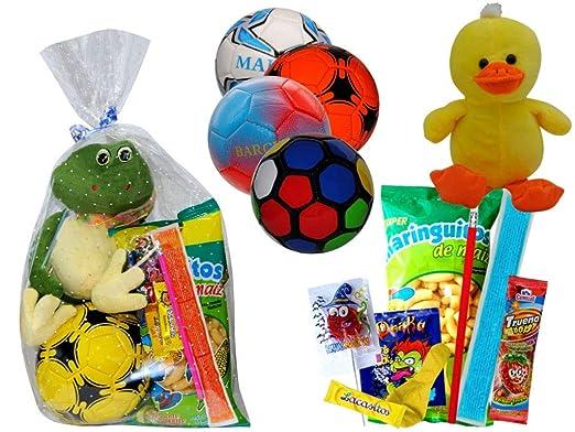 Lote de 3 Balones de Balonmano con Golosinas y Peluches en ...