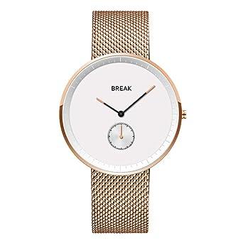 Wasserdichte Marken Japanische Luxus Für Break Herren Uhren Top 4j5ARL