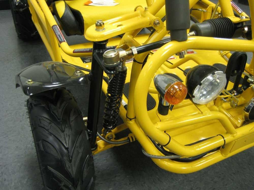 Amazon.com: High End Go Kart Semi Auto de 110 cc con Reverse ...