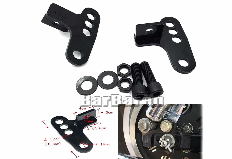 Set di ammortizzatori per moto 1 2 3 per Harley Sportster XL883 1200 Nightster Low XL1200L//R