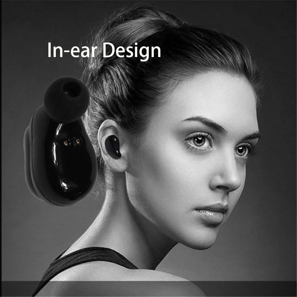 Wireless Bluetooth Earphone TWS-L1 Mini Two Earbuds With Charging Box Stereo Sound Earplugs In-ear Design Denoise Portable Fones de ouvido Auriculares(black)