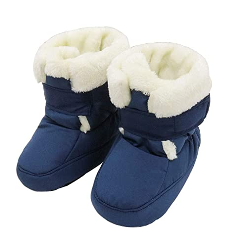 c7a401800a5dd KVbaby Baby Winter Warm Fur Boots Keep Warm Soft Sole Snow Boots Soft Crib  Shoes Toddler Boots  Amazon.co.uk  Shoes   Bags