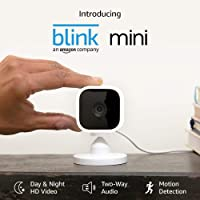 Deals on Blink Mini Compact Indoor Plug-in Smart Security Camera