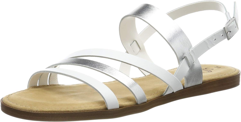 s.Oliver Outlet SALE Women's Slingback Sandals It is very popular Sling Back