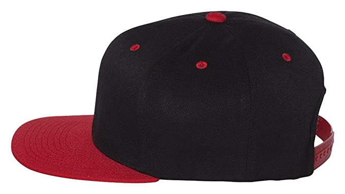 4f1c712bf Image Unavailable. Image not available for. Color: Flexfit - One Ten Flat  Bill Snapback Cap - 110F
