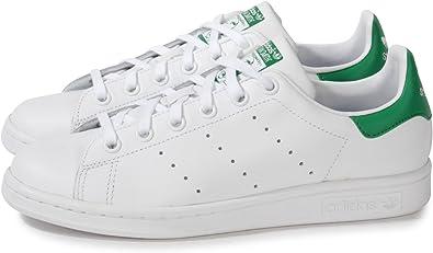 adidas Stan Smith Blanche Et Verte Blanc 40