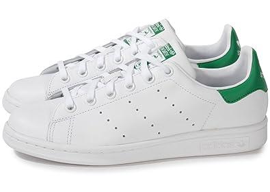 livraison gratuite d1036 88c5a adidas Stan Smith Blanc Vert Blanc 43: Amazon.fr: Chaussures ...