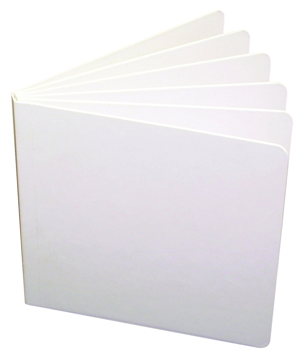 Ashley Productions ASH10700BN Hardcover Blank Book, 8-1/8'' x 6-3/8'', Grade 2:5'' Height, 7'' Wide, 8'' Length, White (Pack of 10)