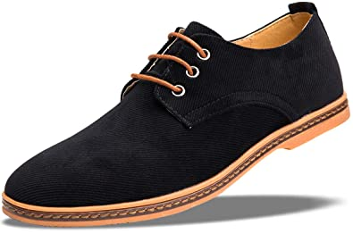 4658ca47ccf0 Amazon.com | 4HOW Mens Casual Oxford Lace Up Shoe | Oxfords