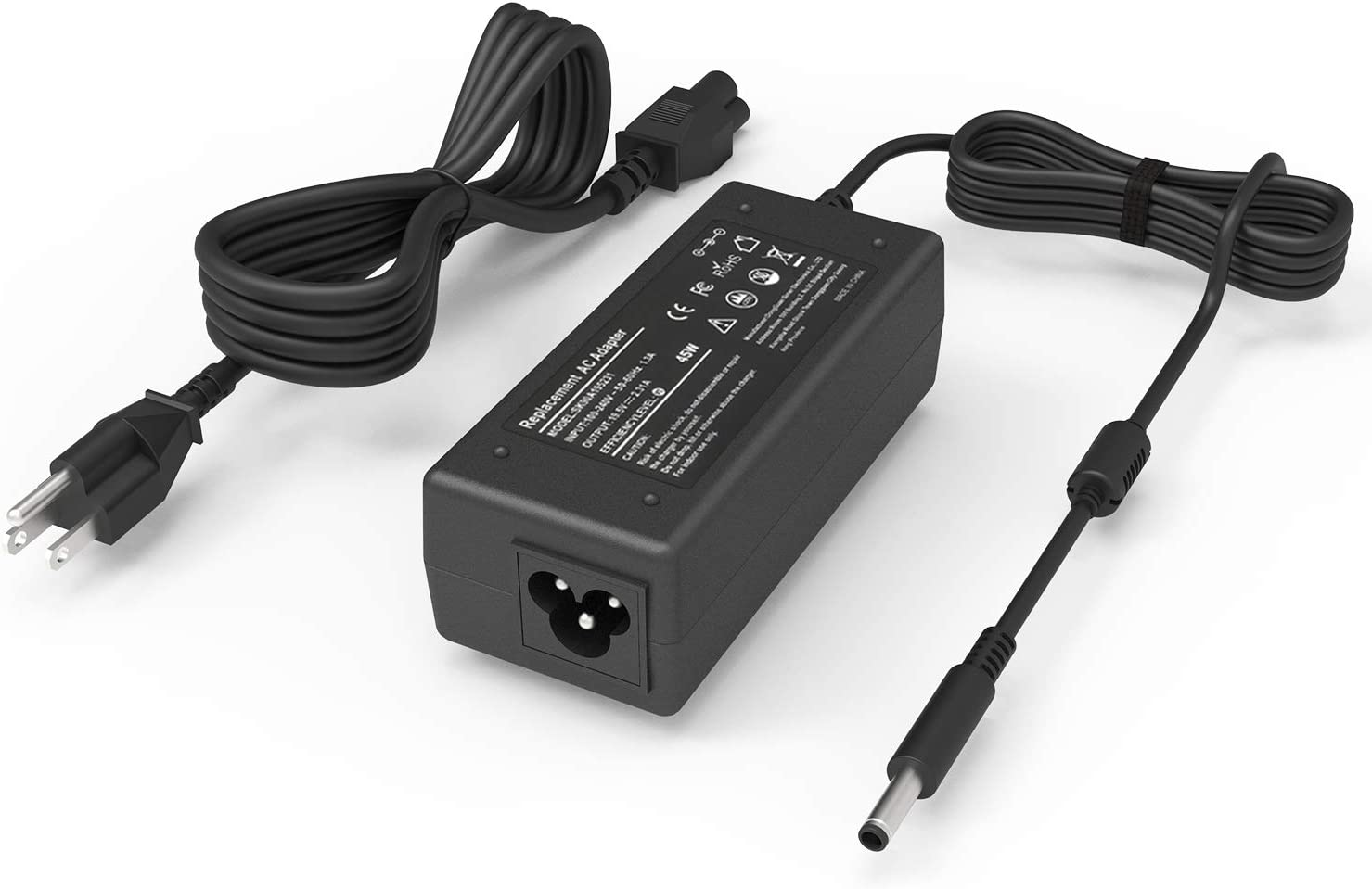 45W Replacement AC Adapter Charger for Dell Inspiron 15 3000 5000 Series 15-3552 3555 3558 3565 3567 5551 5552 5555 5558 5559 5565 5567 5568 5578 7558 7568 7569 7579 Laptop Power Supply Cord
