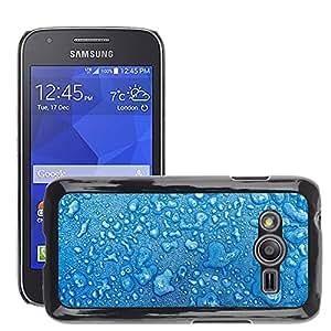 Etui Housse Coque de Protection Cover Rigide pour // M00152624 Invierno frío gota hielo Gotas de agua // Samsung Galaxy Ace4 / Galaxy Ace 4 LTE / SM-G313F