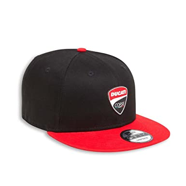 Amazon.com  Ducati Snaparch New Era 9FIFTY A-Frame Snapback Hat ... b9c176dc779