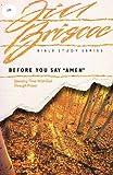 "Before You Say ""Amen"", Jill Briscoe, 0896936376"