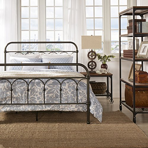 Amazon Com Morocco Vintage Metal Bed Frame Antique Rustic