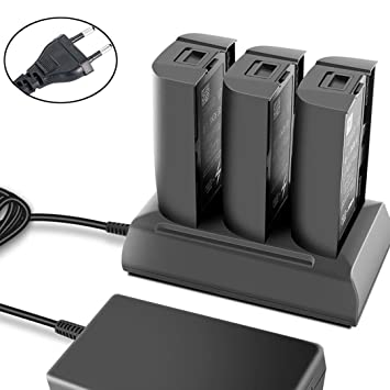For Parrot Bebop Drone//FPV Balanced Battery 3 In 1 Super Fast Charger Adapter US