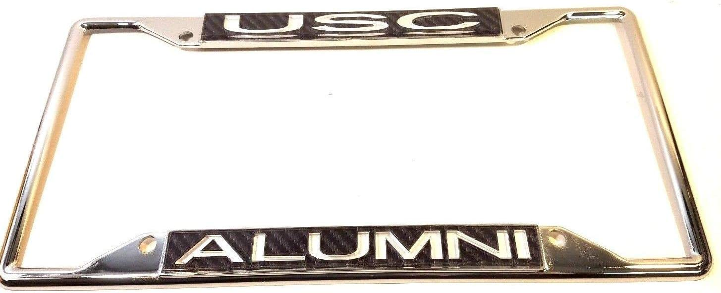 University Of Southern California Alumni Chrome License Plate Frame