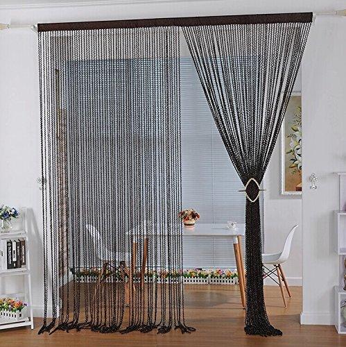 Crazy Genie High Quality String Thread Curtain Corridor