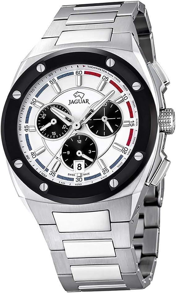 Jaguar Reloj de Pulsera Deportivo analógico para Hombre