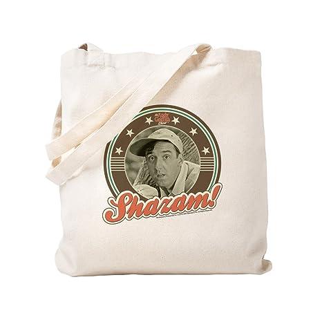 CafePress Shazam Bolsa de lona natural, bolsa de la compra ...
