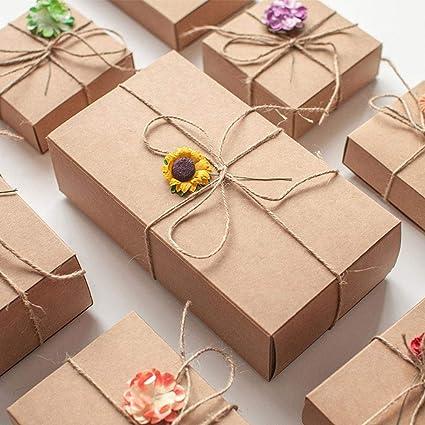 Pack de 12 pastels multicolores bijoux boîtes de gros emballage 9x9x3cm