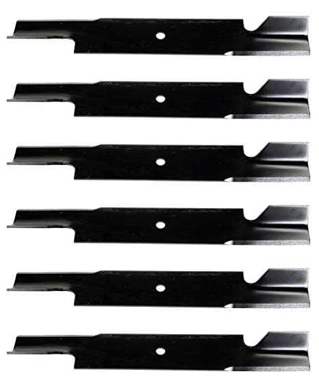 6 Pack - USA Mower Blades Commercial Hi-Lift fits Scag 481708 48111 481712  48304 A48111 A48304