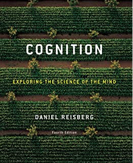 Amazon cognition exploring the science of the mind sixth cognition exploring the science of the mind fourth edition fandeluxe Image collections