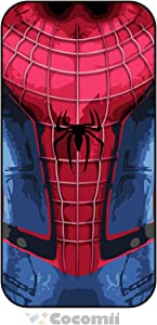 Cocomii Spider Man Armor iPhone SE/5S/5C/5 Case, Slim Thin Matte Vertical & Horizontal Kickstand Reinforced Drop Protection Fashion Phone Case Bumper Cover for Apple iPhone SE/5S/5C/5 (Spider Man)