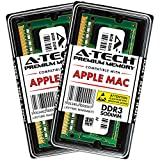 "A-Tech 16GB Kit (2X 8GB) DDR3 1333MHz PC3-10600 204-pin SODIMM for Apple MacBook Pro (Early/Late 2011) - iMac (Mid 2010, 27"", 4-Core) (Mid 2011, 21.5""/27"") - Mac Mini (Mid 2011) - RAM Memory Upgrade"