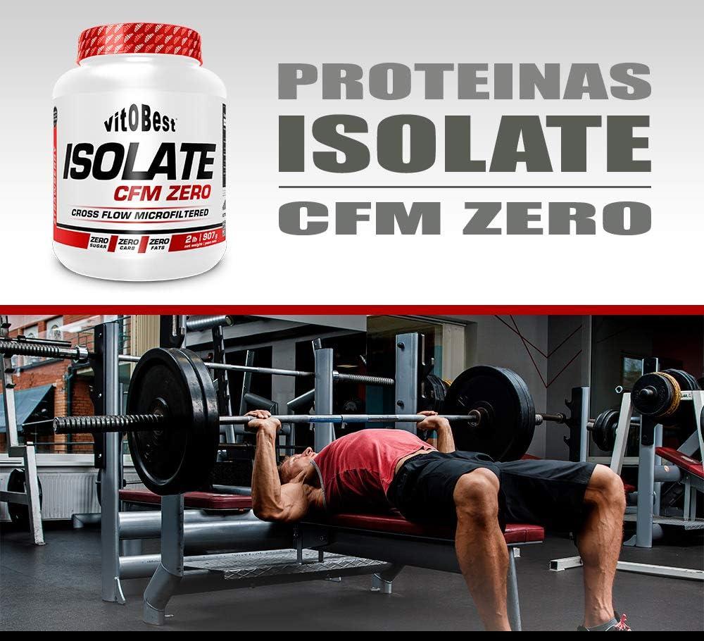 Proteínas Isolate CFM ZERO (907 gr - 2 lb - Galleta) - Contiene CFM Whey Protein Isolate de gran pureza - Suplementos Deportivos y Suplementos ...