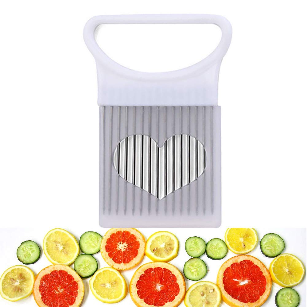 Yamesu All-In-One Onion Holder, Stainless Steel Holder for Odor Remover Onion Slicing Tomato Potato Slicer Vegetable Chopper Fruits Cutter Safety Cooking Tools Aid Gadget (Green)