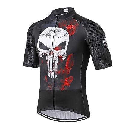 caabeceff Amazon.com   Weimostar Summer Men s Bicycle Short Sleeve Jersey Top ...