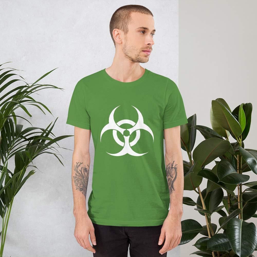 Quotablee Biohazard Bio Hazard Shirt Funny Tee Toxic T-Shirt Chemical Short-Sleeve Unisex T-Shirt