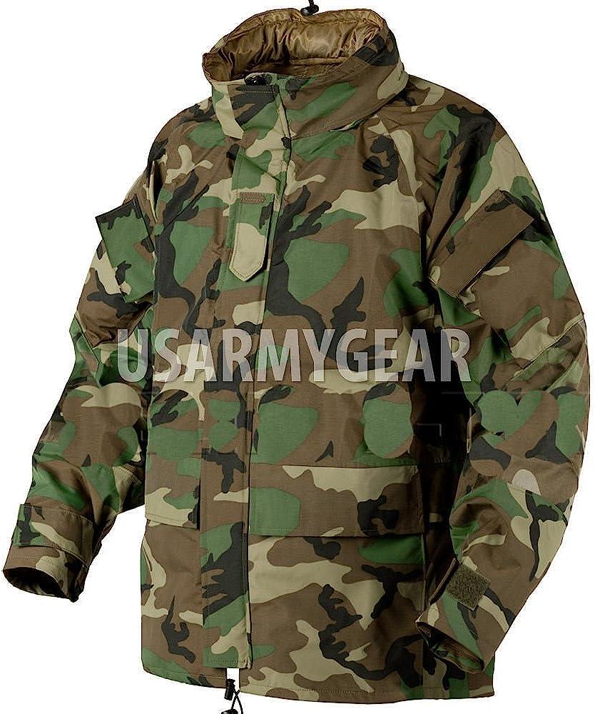 Anorak Combat Winter Woodland Windbreaker Jacke Military Outdoor Army Gr 2XL