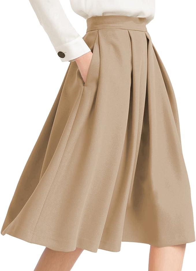 要你好看!时尚显瘦高腰百褶半裙 11种颜色