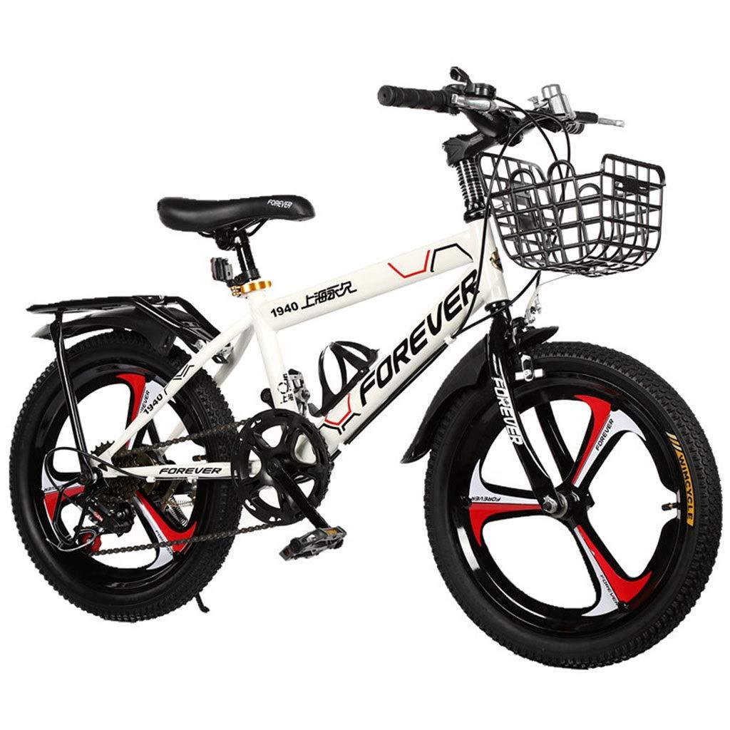 Bici per bambini Biciclette per Bambini Biciclette Sportive da 18 Pollici Passeggini di Montagna di 6-12 Anni Ragazzi Che Vanno in Bicicletta All'aperto Dando Ai Bambini Il Miglior Regalo