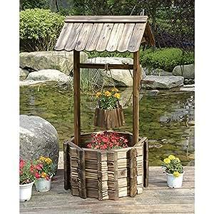 Grand Wishing Well Planter - Inspires Grand-Scale Wishing