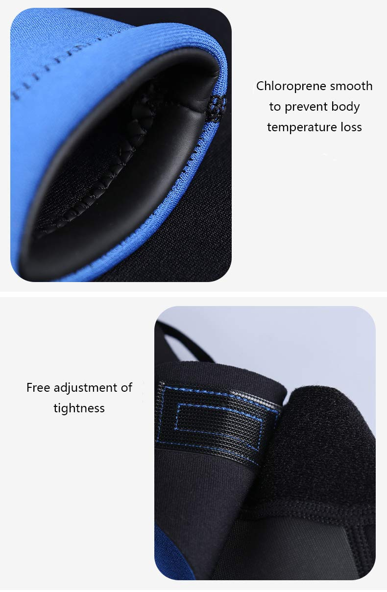 Mens and Womens 2MM Neoprene Complete Set with Super Elastic Warm Sunscreen Comfortable Diving Suit