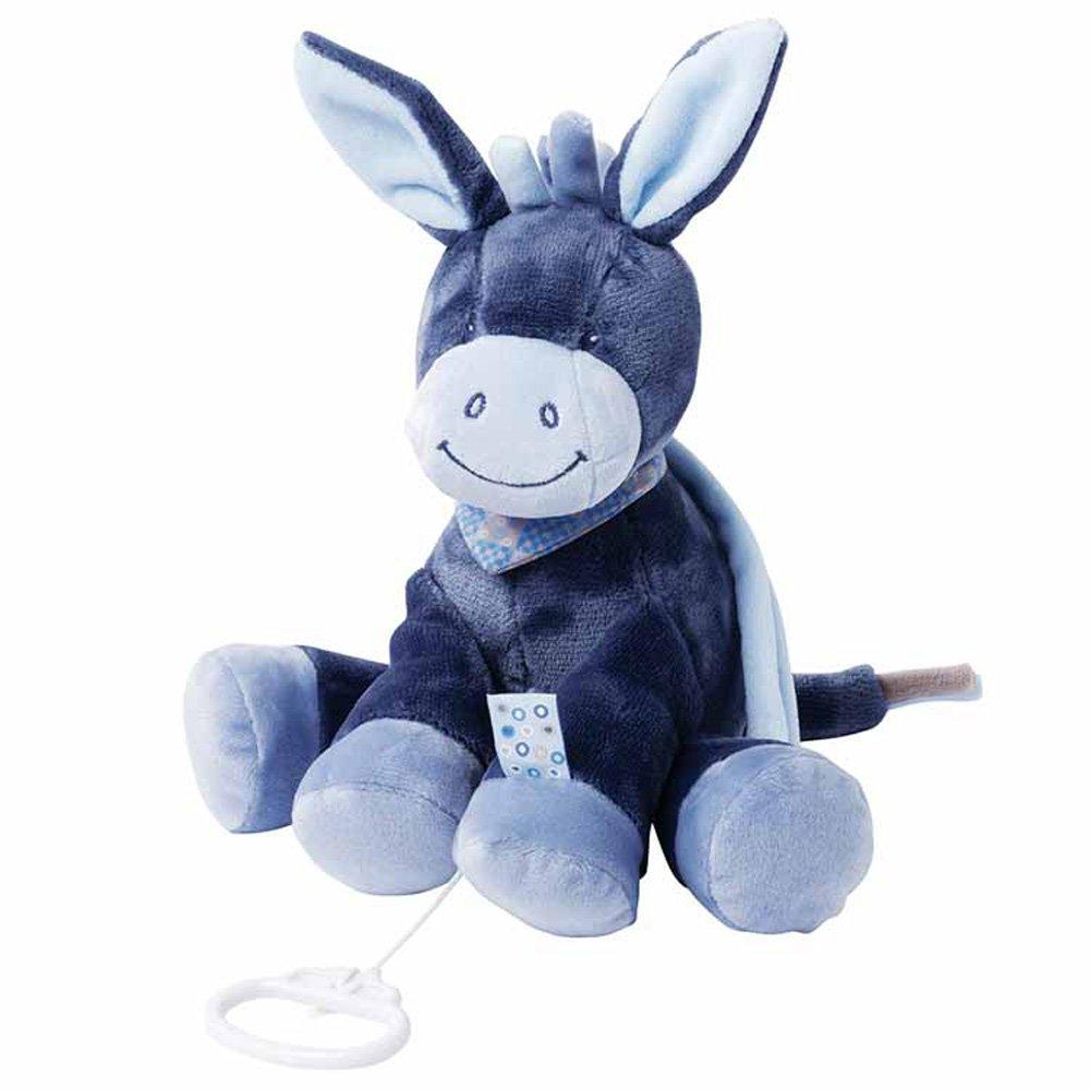 Nattou Alex and Bibou Collection Musical, Alex The Donkey Hippychick NATALE321051