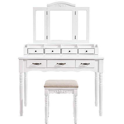 b0dc927d5e46 Amazon.com  VASAGLE Vanity Set