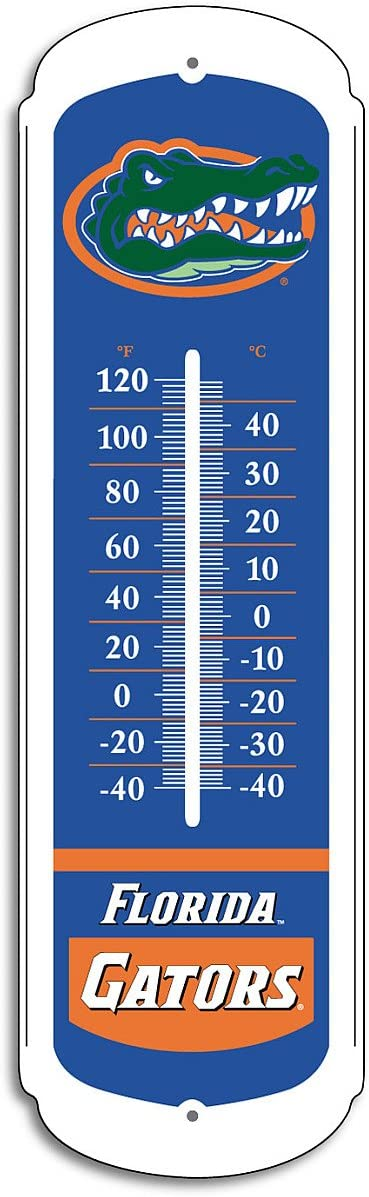 NCAA Florida Gators 27-inch Outdoor Thermometer