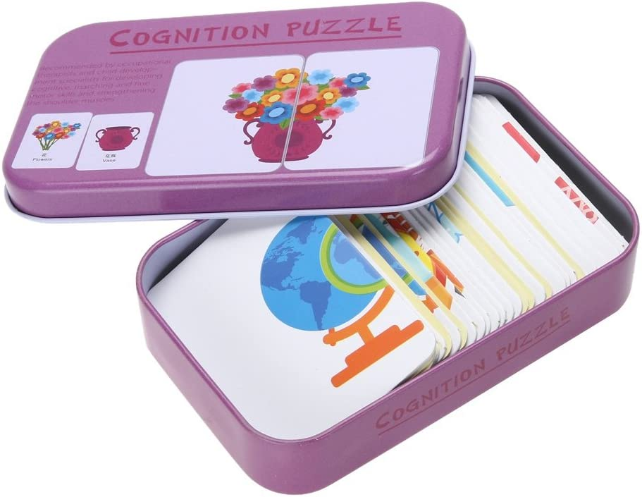Blaward Juego de Aprendizaje Infantil Preescolar Niños de Madera Jigsaw Juguetes para la Educación Infantil y Aprendizaje Puzzles Juguetes 32 Pcs: Amazon.es: Juguetes y juegos