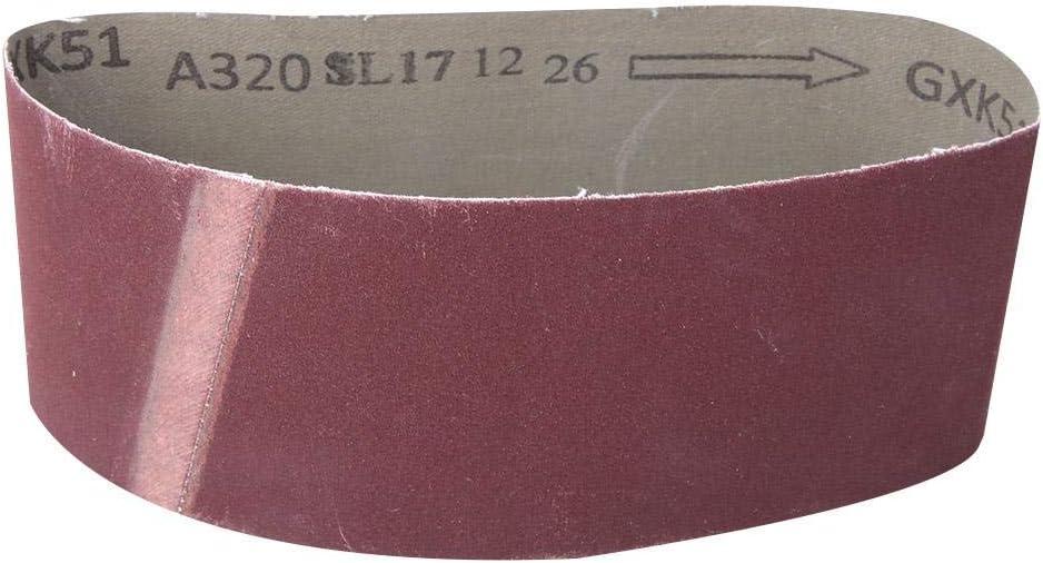10 pezzi di nastri abrasivi 1000 nastro abrasivo allossido di alluminio 457x75mm per hardware di mobili in legno