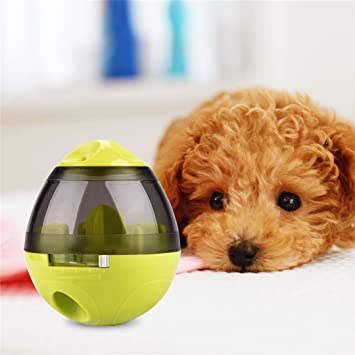 Juguetes Interactivos Dispensador de Comida para Perros Pelota de Juguete Recargable para Perros y Gatos Iq