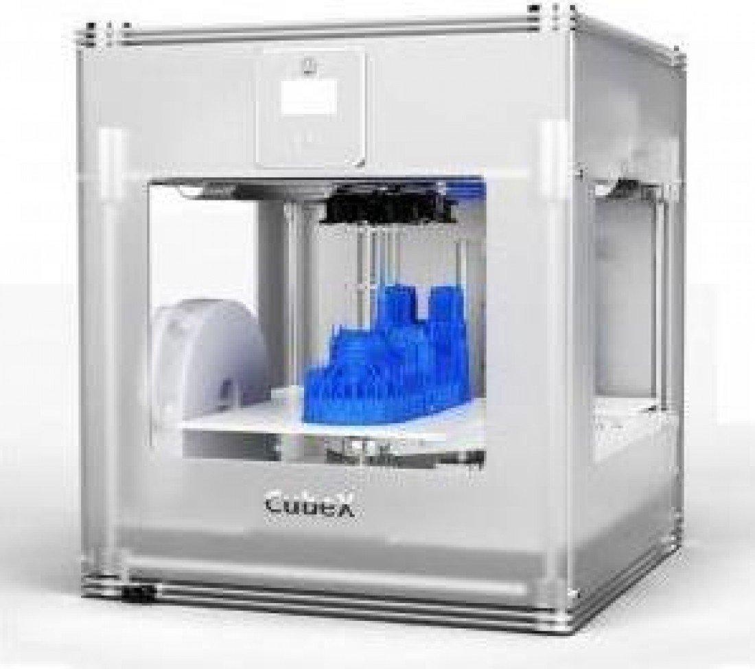 Cubify 401383 CubeX Single - Impresora 3D [importado, enchufe UK ...