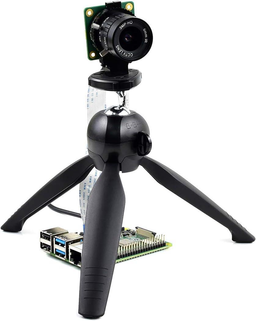 Waveshare Raspberry Pi Camera 12.3MP IMX477 Sensor Supports C and ...