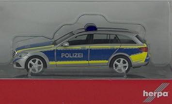 herpa 092692 mercedes benz c klasse t modell polizei saarland - Bewerbung Polizei Saarland