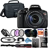 Canon EOS Rebel T6i 24.2MP Digital SLR Camera Retail Packaging Accessory Bundle (18-135mm IS STM)