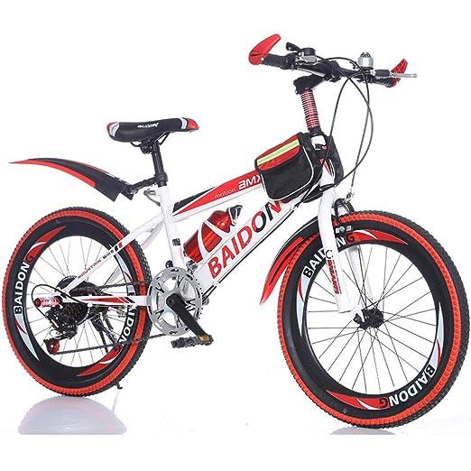 Fenfen Bicicleta para niños de 20 Pulgadas Bicicleta de montaña de ...